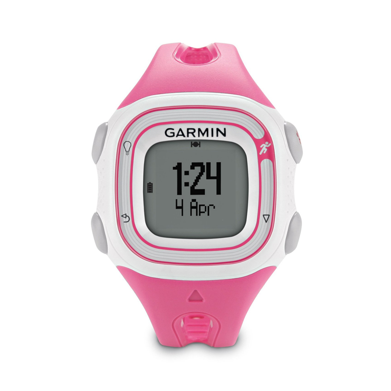 -Garmin Forerunner 10 GPS Watch Pink and White Price in Dubai