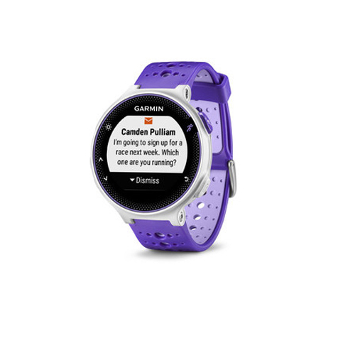 buy garmin forerunner 230 with HR Bundle Black - Purple