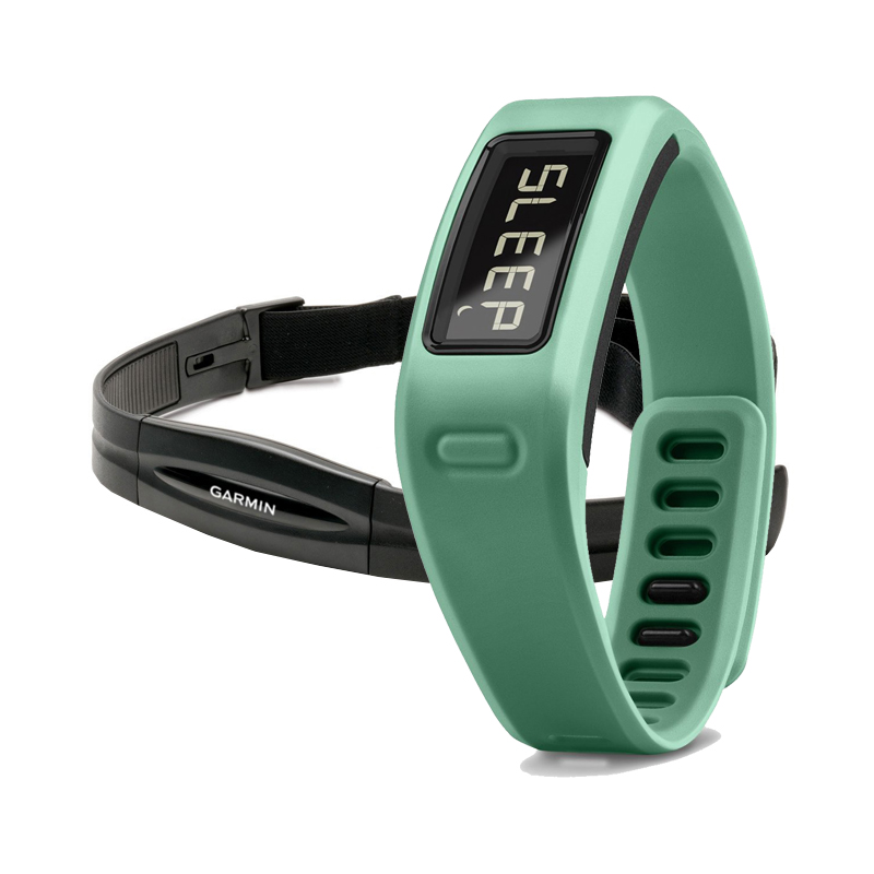 Garmin Vivofit Fitness Band Teal Bundle With Heart Rate Monitor Price in Dubai