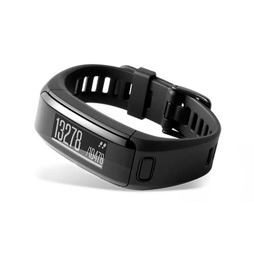 Garmin Vivosmart Activity Tracker with Wrist Based Heart Rate Monitor Black