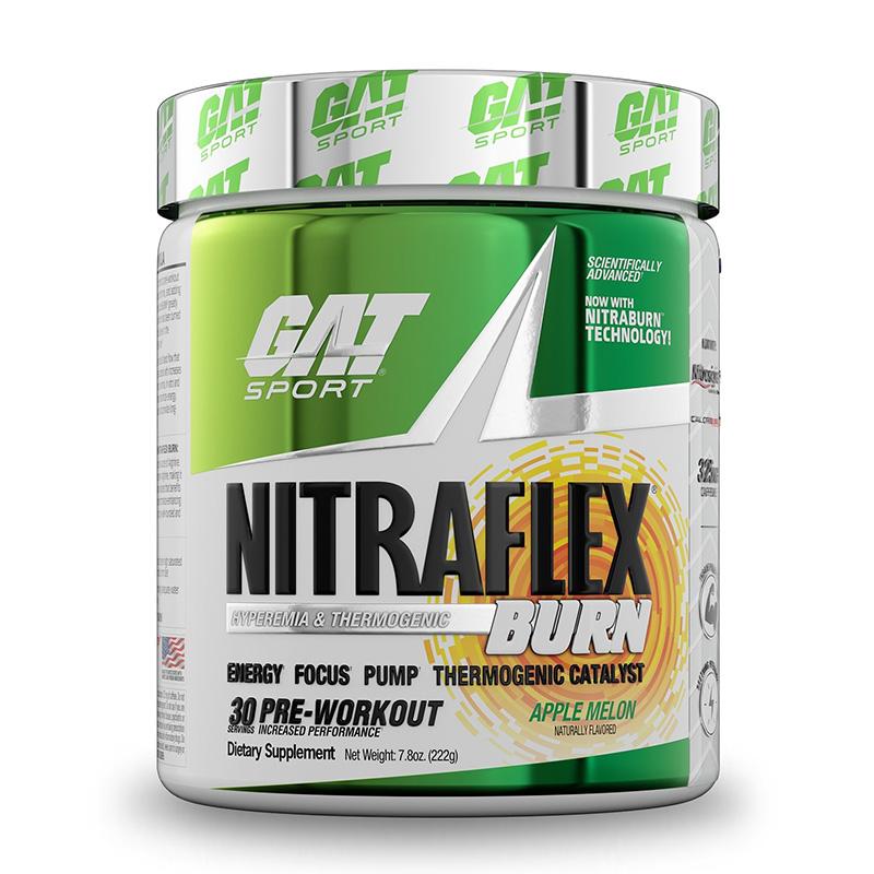 GAT Sport Nitraflex Burn Apple Melon 30 Servings