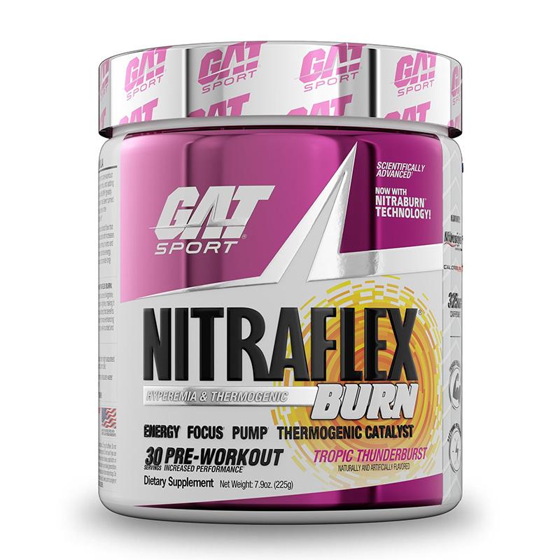 GAT Sport Nitraflex Burn Tropic Thunder 30 Servings