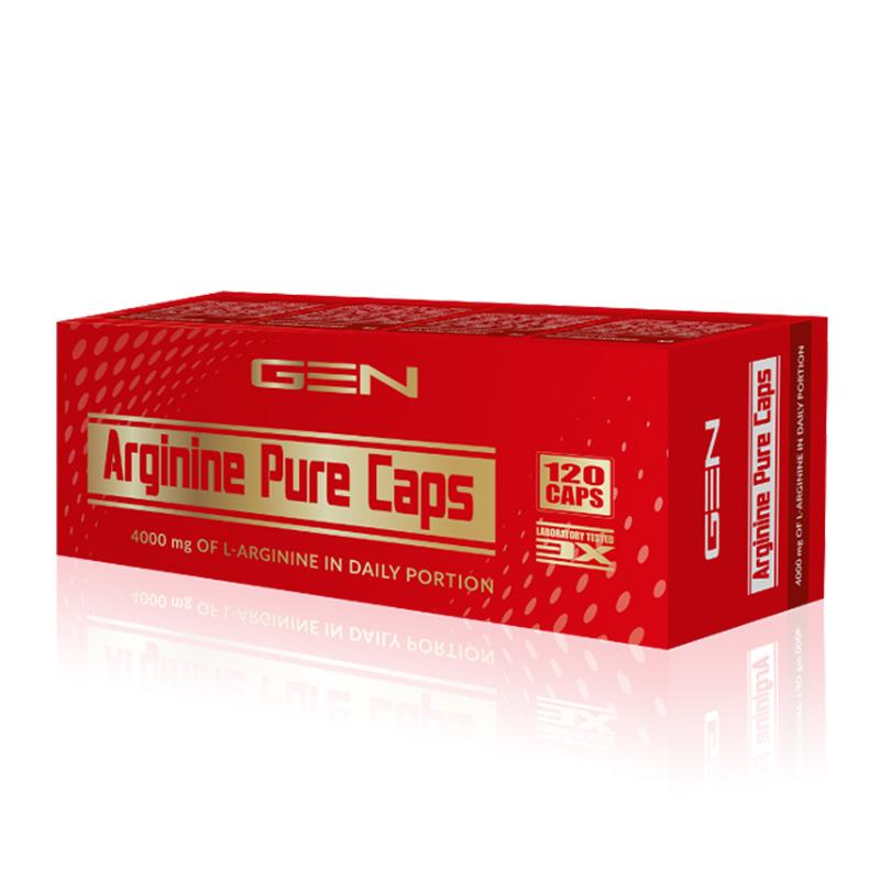 GEN Nutrition Arginine Pure 120 caps