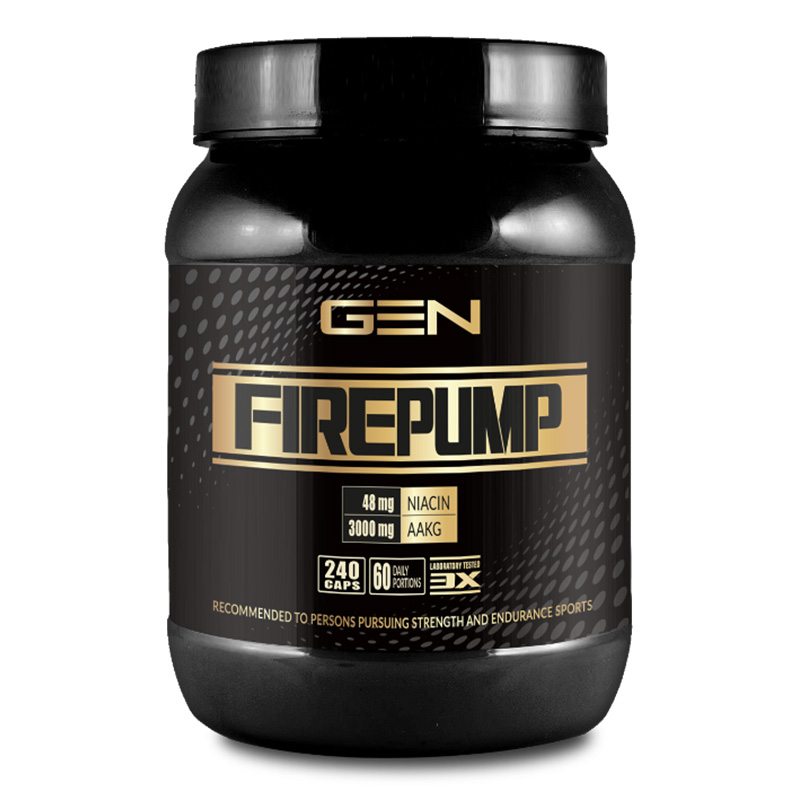 GEN Nutrition Fire Pump 240 Caps