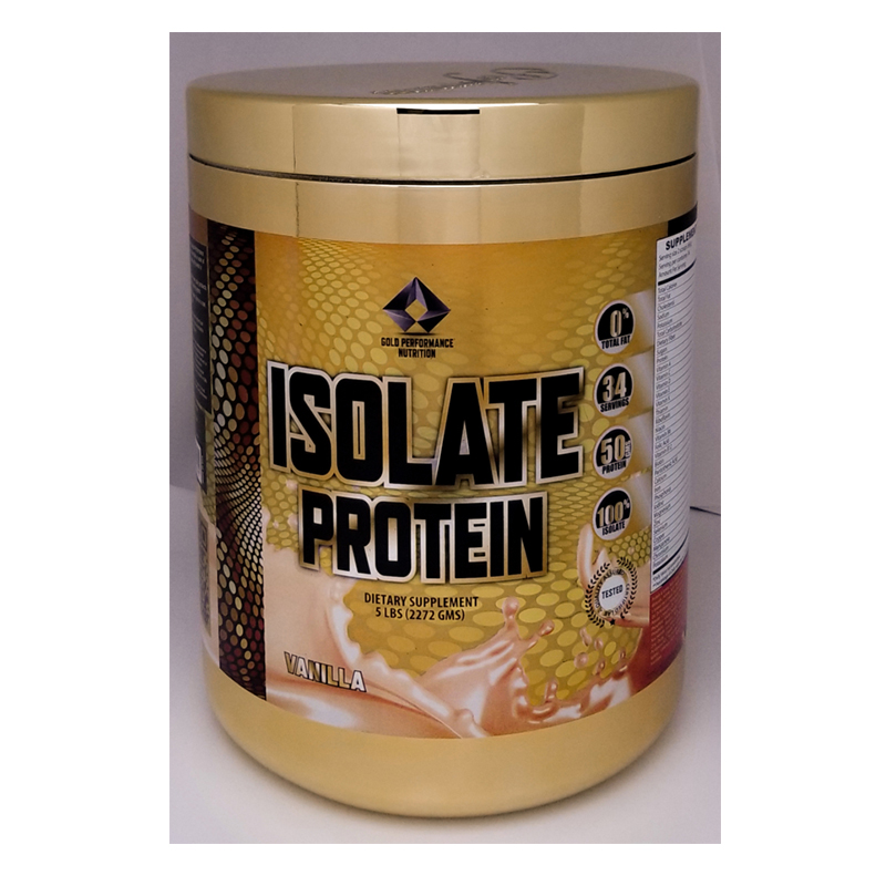 Gold Performance Isolate Protein 5 Lbs