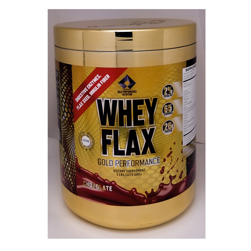 Gold Performance Whey Flax 5 Lbs
