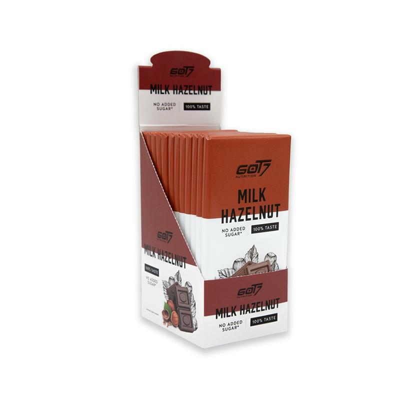 GOT7 Protein Chocolate Bar Hazelnut 1x12 Packs