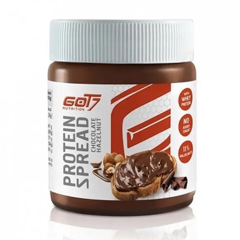 GOT7 Protein Spread Hazelnut Cocoa 1x12 bottle Tray