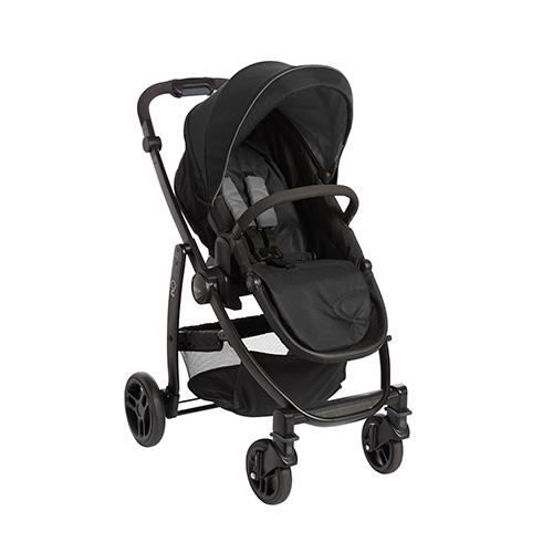 graco evo black grey stroller 01