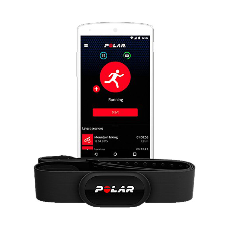 Buy Polar H10 Heart Rate Sensor Black Online In Dubai Abu
