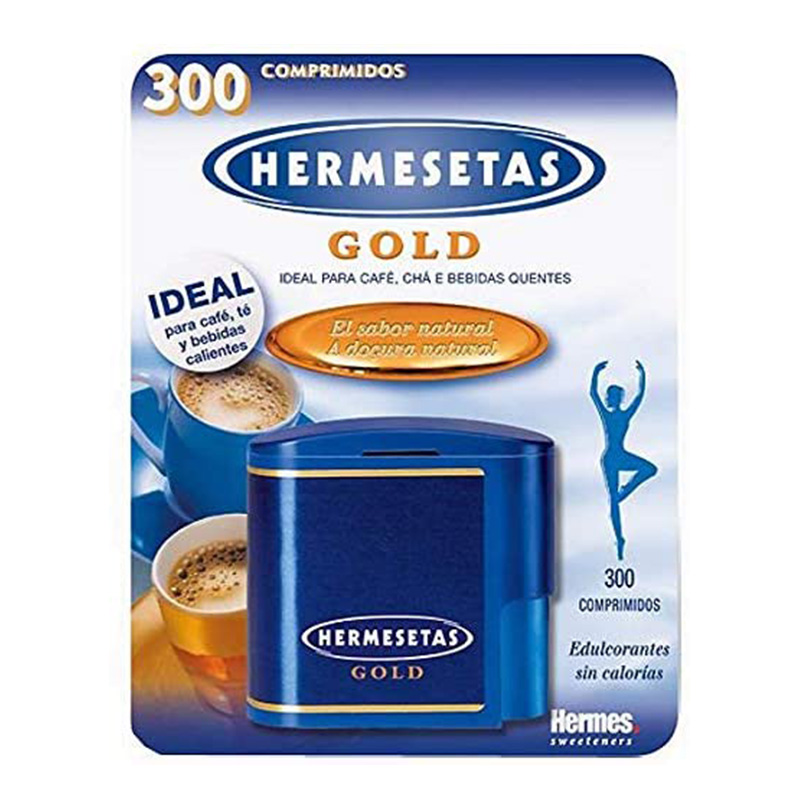 Hermesetas Gold Premium Sweetener 300 Tabs