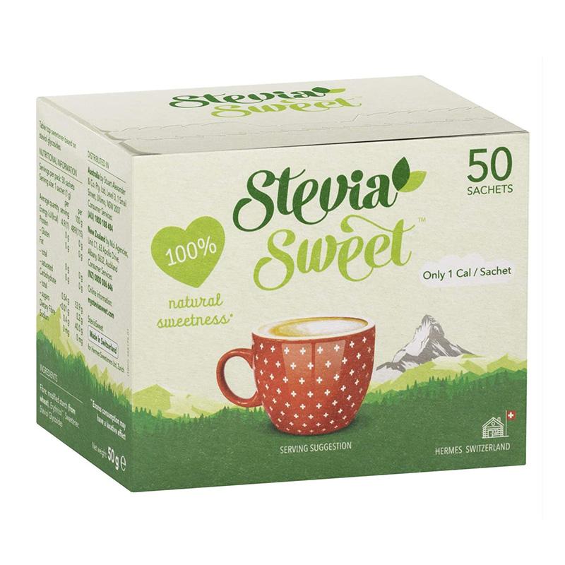 Hermesetas Stevia Sweet 50 Sachets