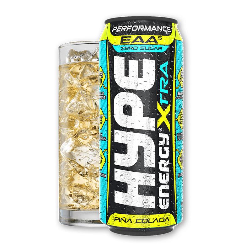 Hype Energy Sport Drink Xtra Pina Colada 500mg x 12 Pcs