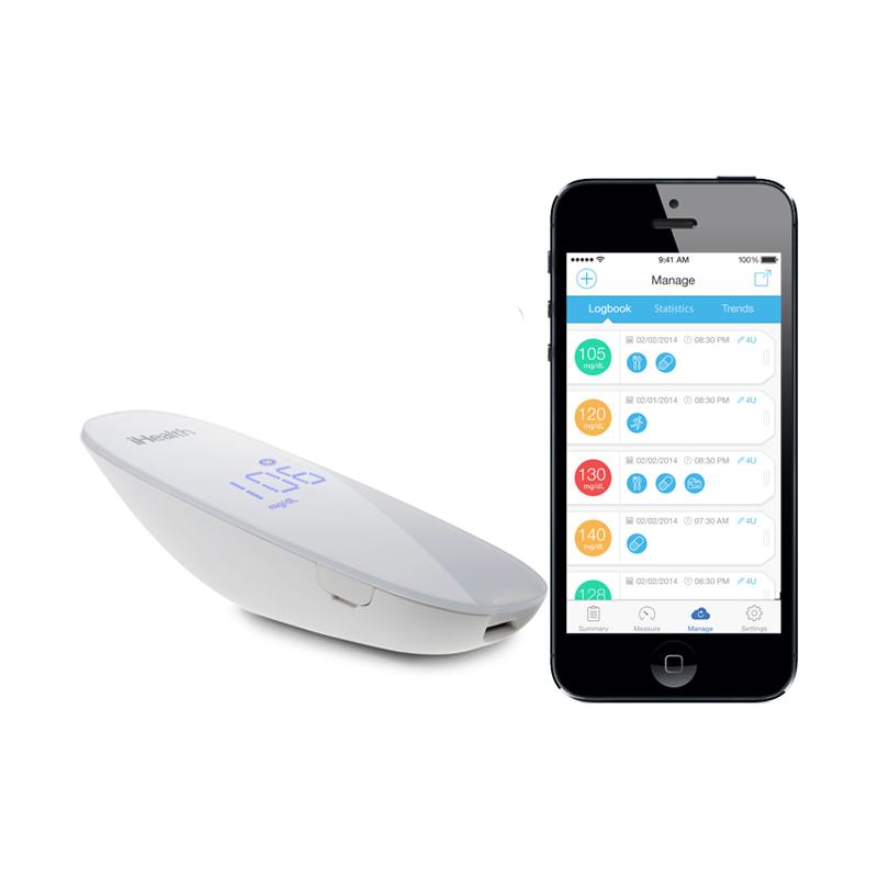 iHealth Wireless Gluco Monitoring in Abu Dhabi