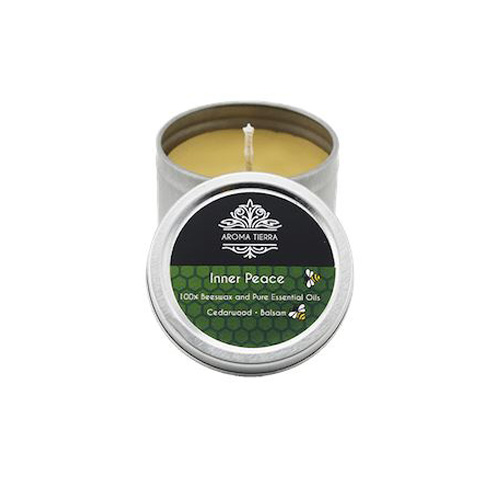 Inner Peace Travel Tin Aroma Beeswax Candles Distrubutor in Dubai