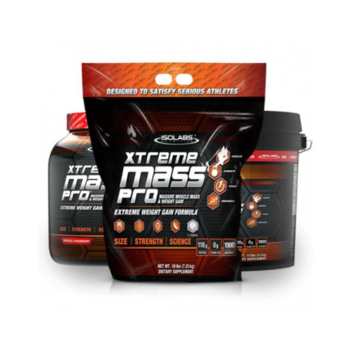 ISO Labs Muscle Gainer Xtreme Mass Pro 10LB