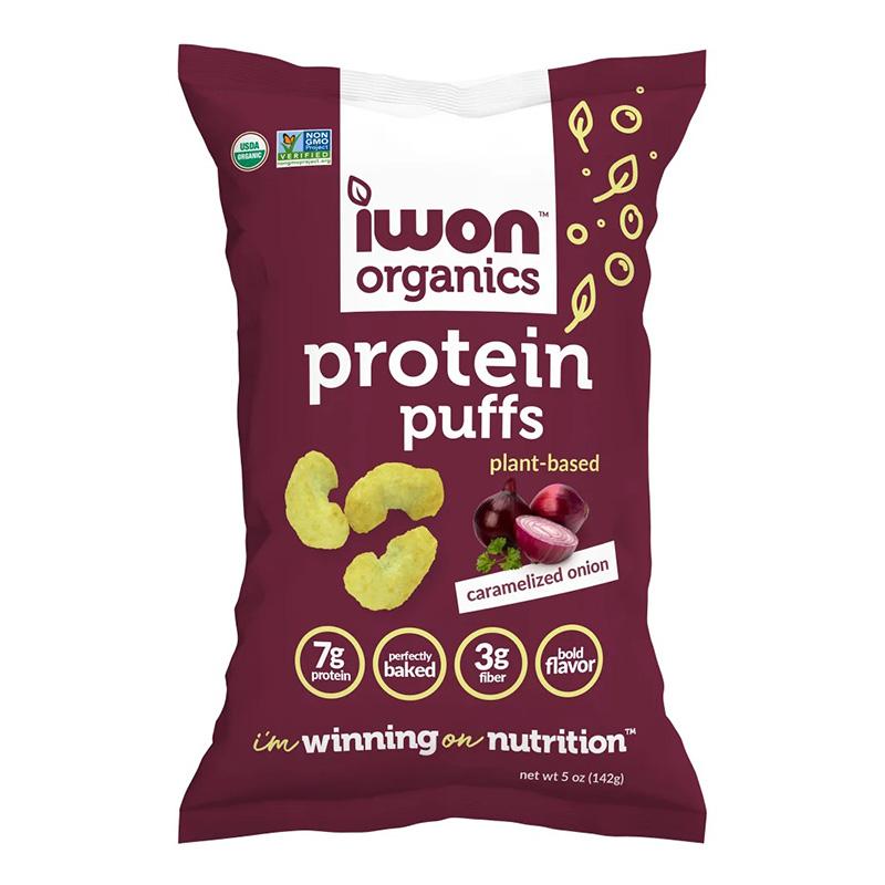 IWON Organics Protein Puffs Caramelized Onion 141 g