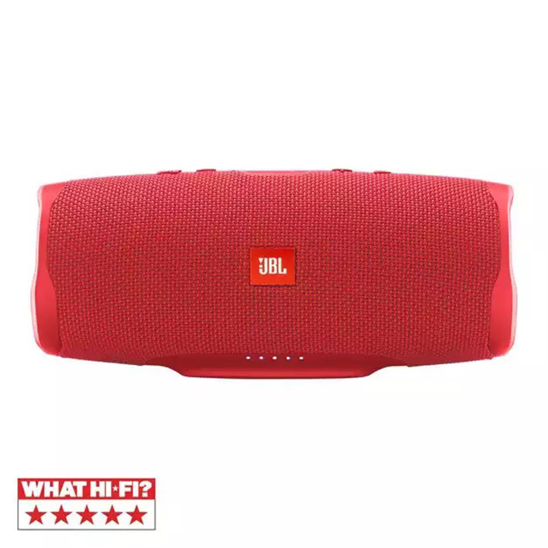 JBL Splashproof Portable Bluetooth Speaker With Usb Charger Charge 4 Red