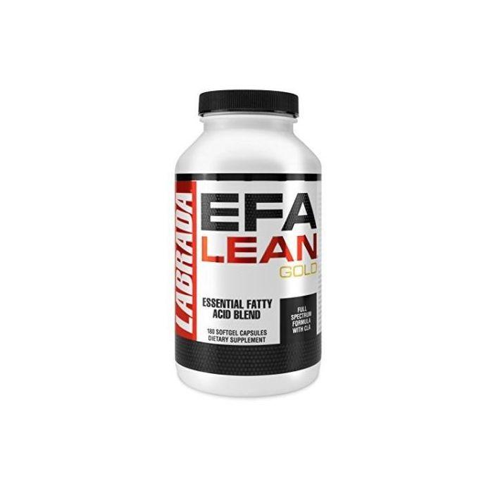 Labrada EFA Lean Gold Essential Fatty Acid Soft Gel Capsules -180 Caps