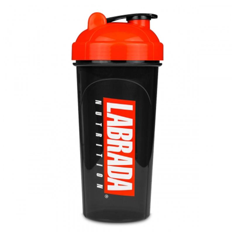Labrada Shaker Bottle Black/Red/White
