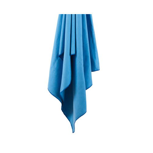 LifeVenture Soft Fibre Trek Towel Medium Blue