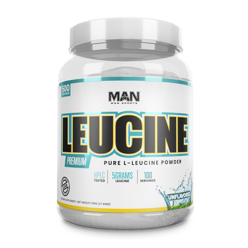 Man Sports Leucine 500 Grams