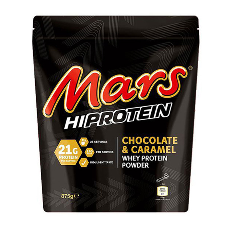 Mars Hi Protein Powder - Chocolate and Caramel 875g