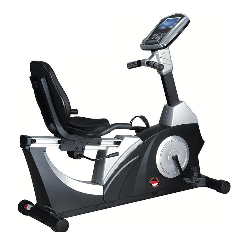 Marshal Fitness Commercial Recumbent Bike Self Generation Ergometer - BXZ-6500L