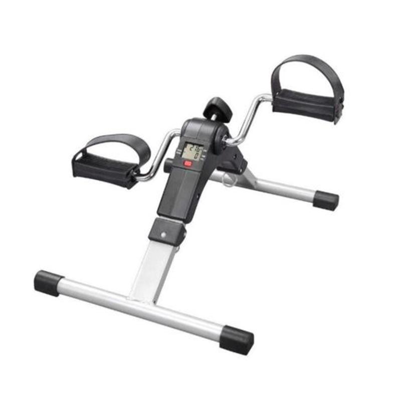 Marshal Fitness Digital Foldable Mini Bike