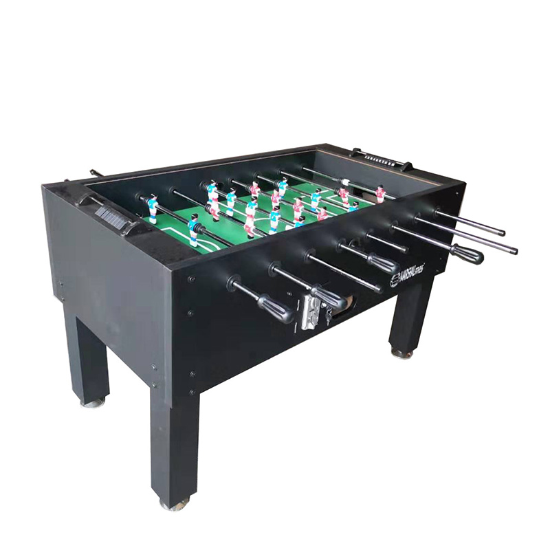 Marshal Fitness Glass Top Foosball Coin Soccer Table for Outdoor Use MF-4075
