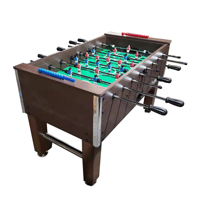 Marshal Fitness Glass Top Foosball Coin Soccer Table - MF-4074 COIN