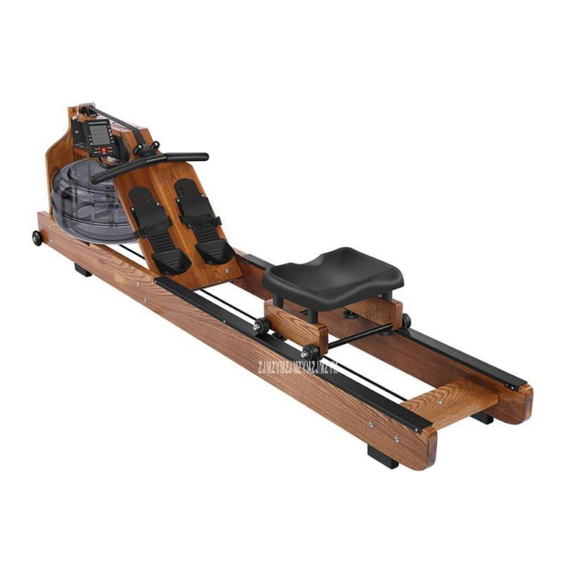 Marshall Fitness Water Rowing Machine With Digital Display -  MF-GYM-0154-SL