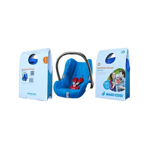 Buy Maxi-Cosi Cabriofix Summer Cover Blue   By Maxi-Cosi ...
