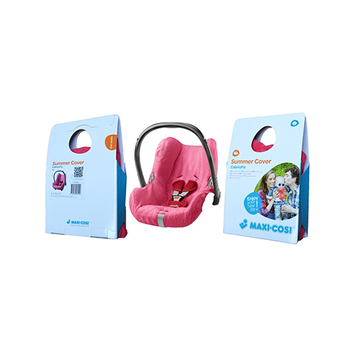 Buy Maxi-Cosi Cabriofix Summer Cover Pink   By Maxi-Cosi ...
