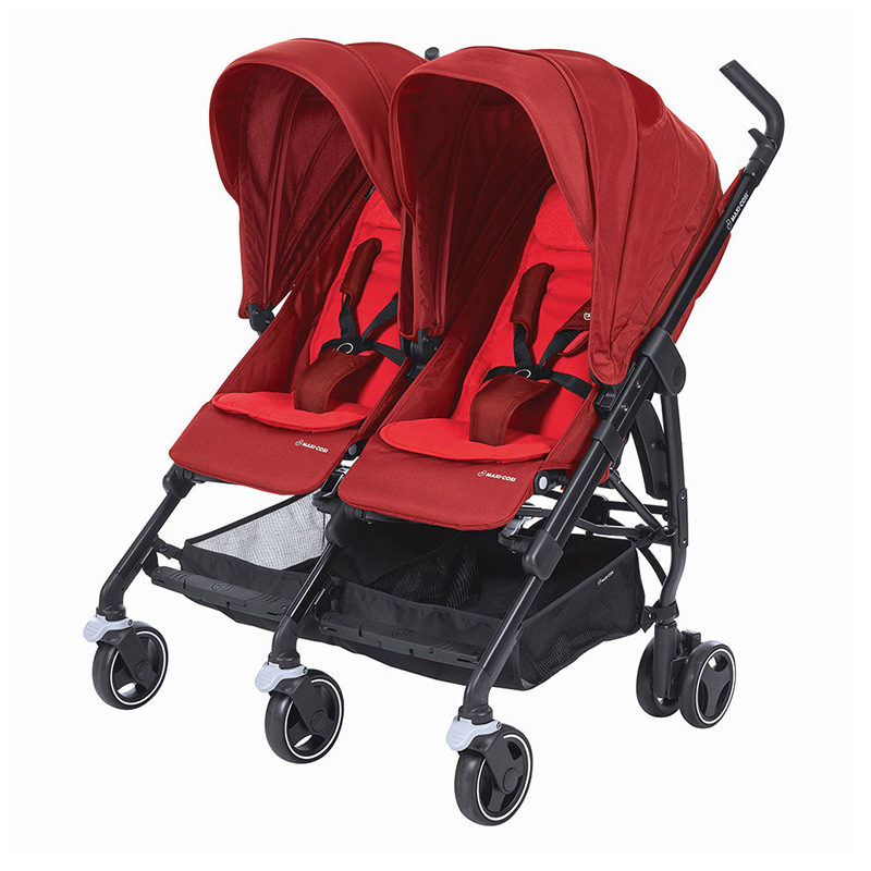 Buy Maxi-Cosi Dana For 2 Stroller Vivid Red in Dubai, Abu