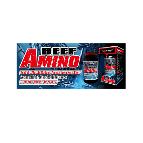 Mega Sports Amino Acids & BCAA Beef Amino 325TAB