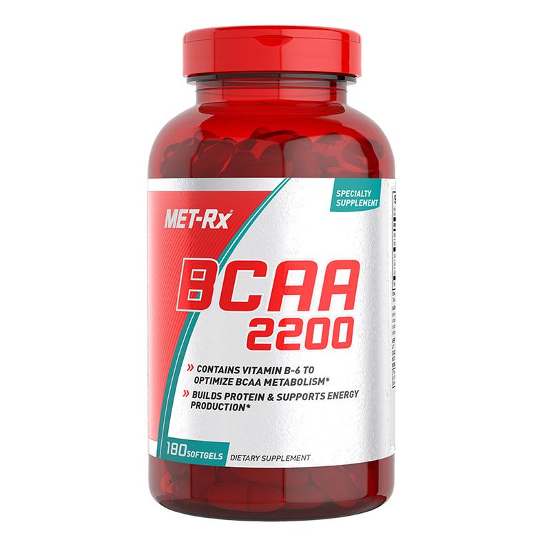 MET-RX BCAA 180 Caps