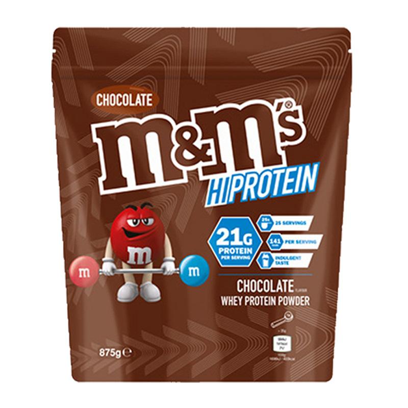 M&M Whey Protein Powder - Chocolate 875g