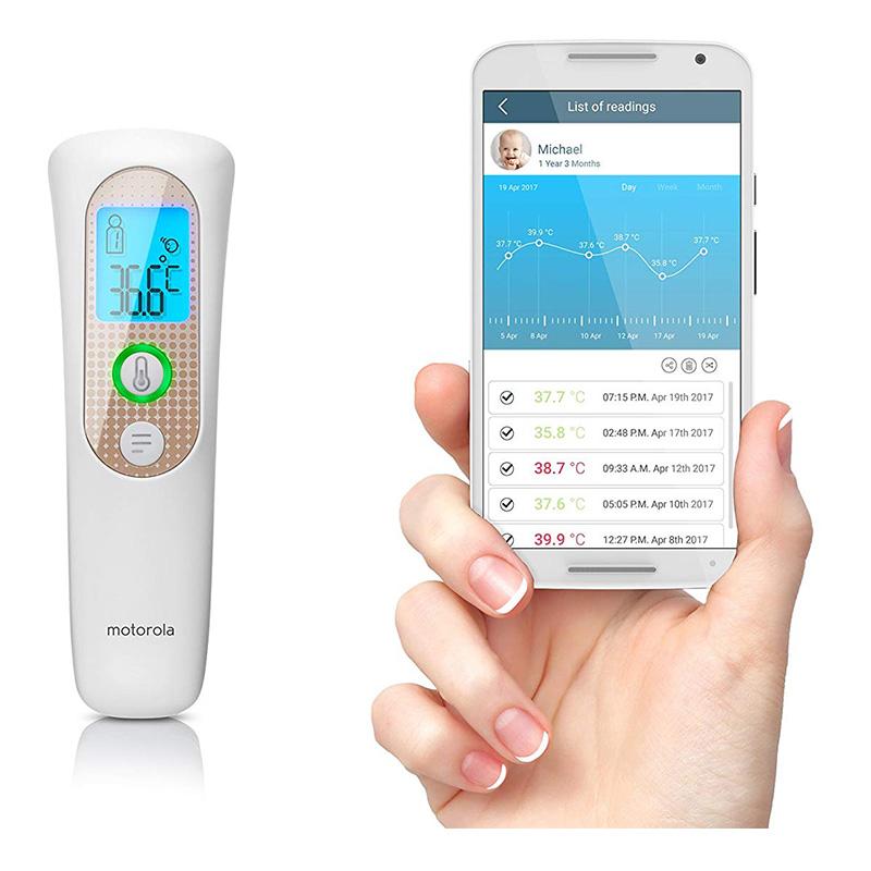 Motorola Smart Nursery Smart Touchless Thermometer - MBP70SN
