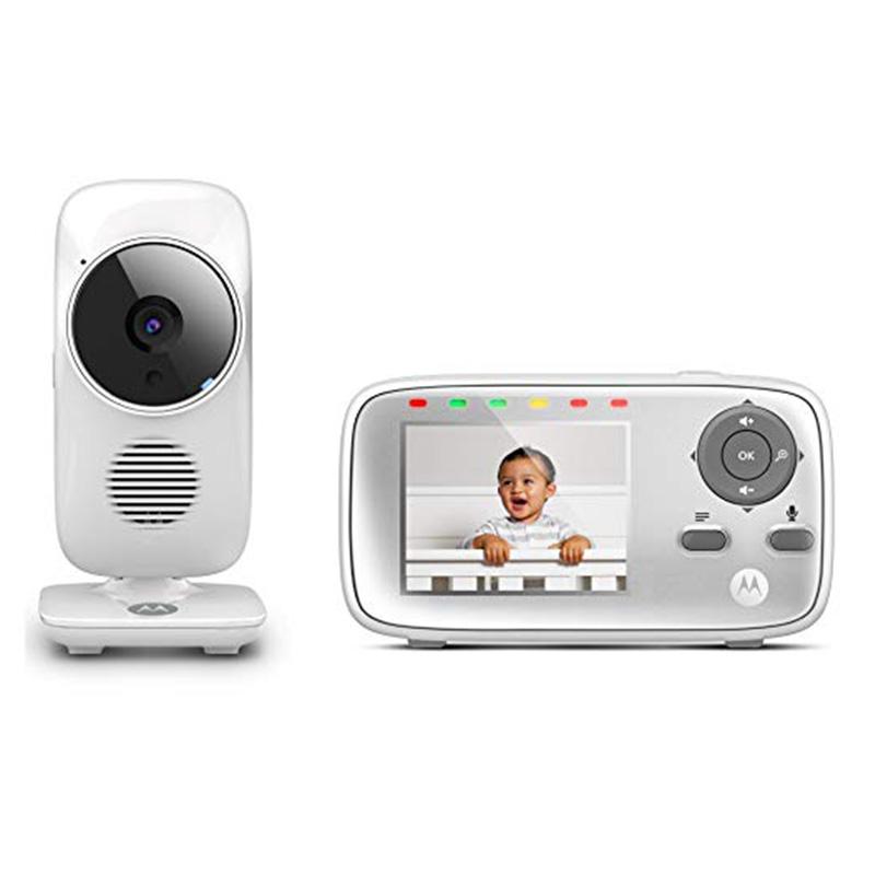 Motorola Video Baby Monitor with Digital Zoom - MBP483
