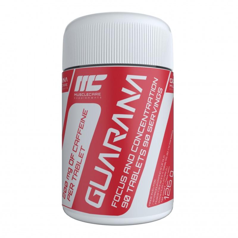 Muscle Care Guarana 90 Tabs