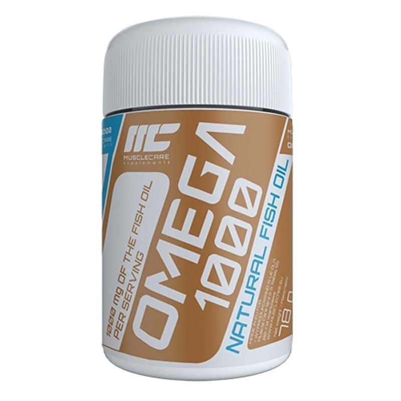 Muscle Care Omega 1000 120 Tabs
