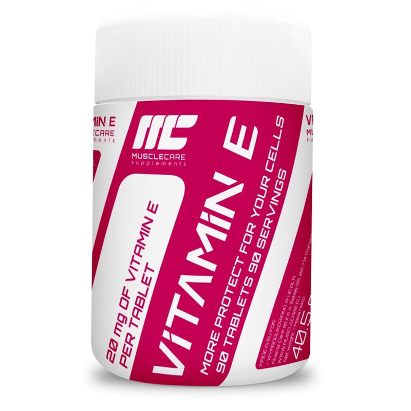 Muscle Care Vitamin E 90 Tabs
