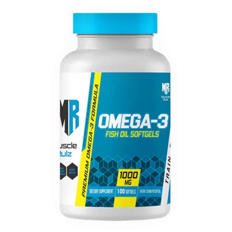 Muscle Rulz-Omega3 100 Fish Oil Softgel