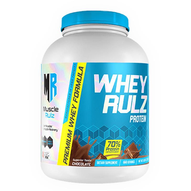 Muscle Rulz Whey Rulz Chocolate - 5Lbs