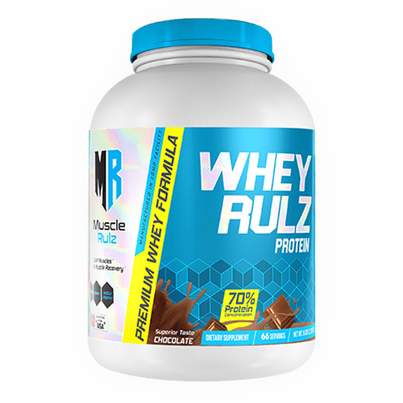 Muscle Rulz Whey Rulz Chocolate Peanut Butter - 5 Lbs