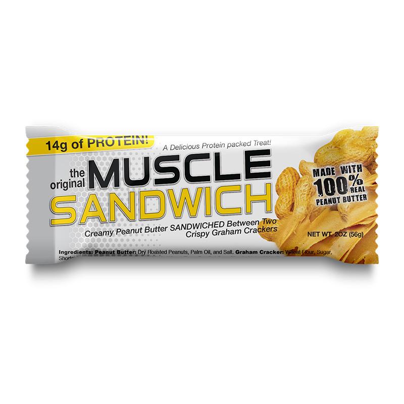 Muscle Sandwich Bar Chocolate Protein Bar