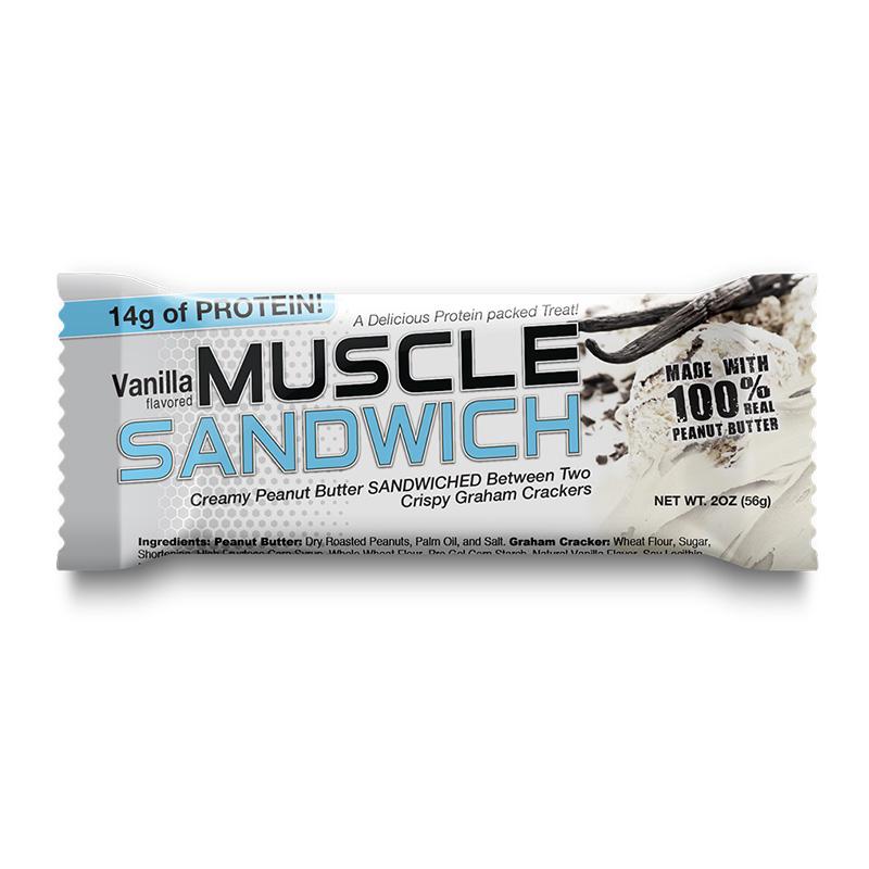 Muscle Sandwich Protein Bar Vanilla