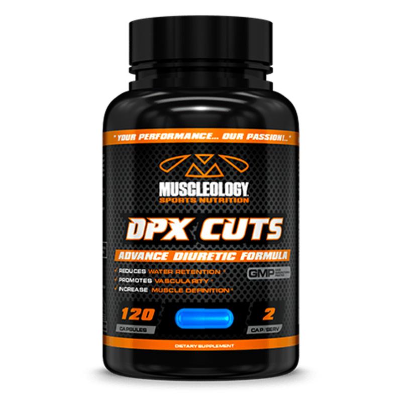 Muscleology DPX Cuts (Fat Burner) 120 Caps