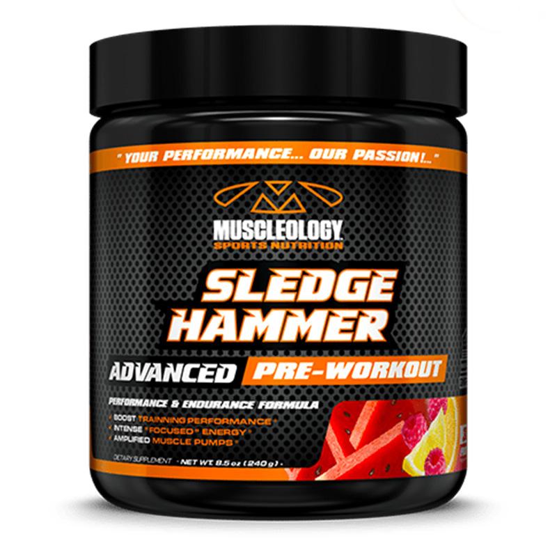 Muscleology Sledge Hammer (Pre Workout) 30 Serving